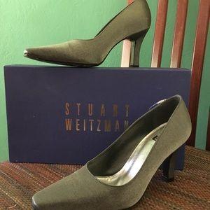 Stuart weitzman pewter lane Raquel shoes